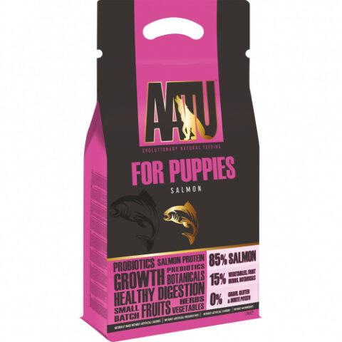 AATU – מזון לגורי כלבים – סלמון